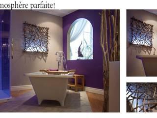 Les salle de bains par Pür cachet Éclectique