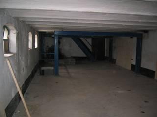 De situatie voor aanvang van de werkzaamheden:   door Architectenbureau Prent BV