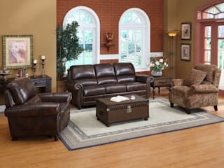 Choosing Full-grain Leather for Sofa Locus Habitat Living roomSofas & armchairs