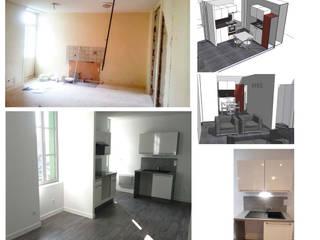 Rénovation d'appartement à Clisson:  de style  par ArtHomeConcept