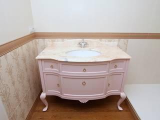 Mueble para lavabo:  de estilo  de Adrados taller de ebanistería