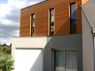DE BOIS ET DE BETON... a2 ARCHITECTURE Maisons modernes