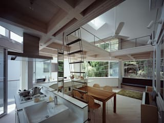 kt一級建築士事務所 Eclectic style dining room