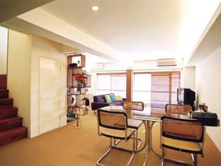 恵比寿の家 オリジナルデザインの ダイニング の 株式会社エキップ オリジナル