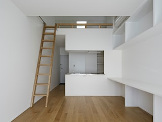 sandwich apartment オリジナルデザインの キッチン の 池田雪絵大野俊治 一級建築士事務所 オリジナル