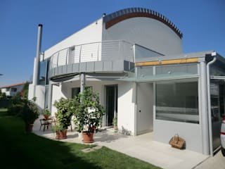 Modern houses by studio associato Chinellato - Favaretto Modern