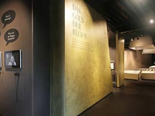 Einblick in die Ausstellung:  Museen von toc designstudio - Haardt Wittmann PartG