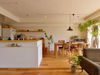 Modern dining room by 株式会社スタイル工房 Modern