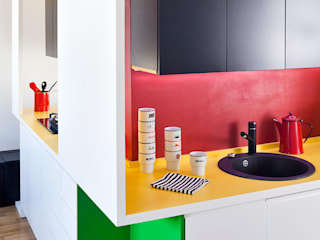 Kitchen by kacper gronkiewicz architekt, Modern