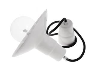 Lampa Loft z Folkiem: styl , w kategorii  zaprojektowany przez Inżynieria Designu