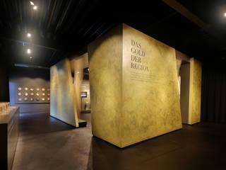"""Kubus """"Das Gold der Region"""":  Museen von toc designstudio - Haardt Wittmann PartG"""