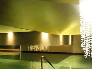 W5-SPA-CLUB Guangzhou / China Moderne Geschäftsräume & Stores von toc designstudio - Haardt Wittmann PartG Modern