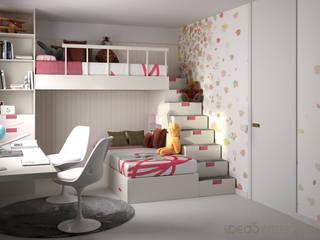 Habitaciones de estilo mediterráneo de Ideas Interiorismo Exclusivo, SLU Mediterráneo