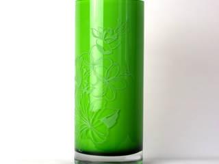 Sara Newman Design - Sandblasted Glassware par Sara Newman Design Éclectique