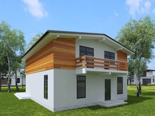 Casas de estilo minimalista de Универсальная история Minimalista