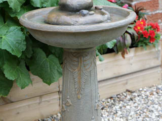 Floriana Bird Bath Solar Powered Water Feature:   by Primrose