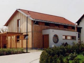 Wohnhaus D., Erfurt Moderne Häuser von GLASEBACH ARCHITEKTEN Modern