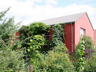 Wohnhaus K., Erfurt Moderne Häuser von GLASEBACH ARCHITEKTEN Modern