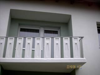 Westfassade NACH der Sanierung:   von Architektur + Innenarchitektur ASW