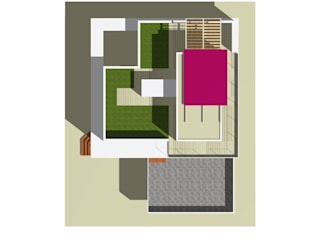 giardino pensile: Giardino d'inverno in stile in stile Moderno di STUDIO ADR _architetto devis rampazzo
