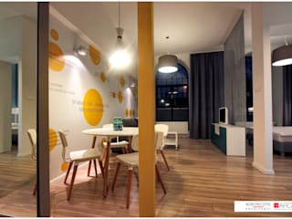 Modern dining room by Borowczyk Architekci Modern