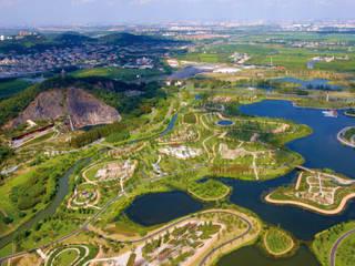 Chenshan Botanic Garden Shanghai Moderne Veranstaltungsorte von Valentien + Valentien Landschaftsarchitekten Stadtplaner Modern
