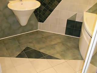 Modern bathroom by ИП OLMIN - Архитектурная студия Олега Минакова Modern