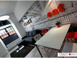Minimalist dining room by Borowczyk Architekci Minimalist