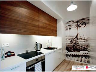 Minimalist kitchen by Borowczyk Architekci Minimalist