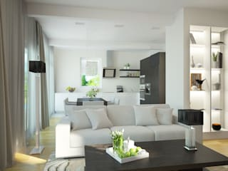 Modern living room by Универсальная история Modern