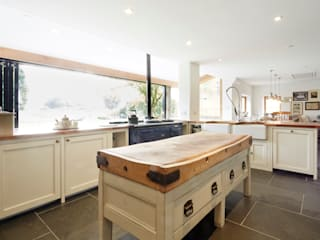 Wren Cottage Cucina rurale di Hart Design and Construction Rurale