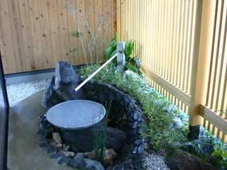 Asian style garden by さんさい工房一級建築士事務所 Asian