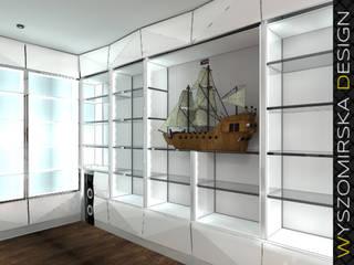 Modern Office Design: styl , w kategorii Domowe biuro i gabinet zaprojektowany przez wyszomirska design
