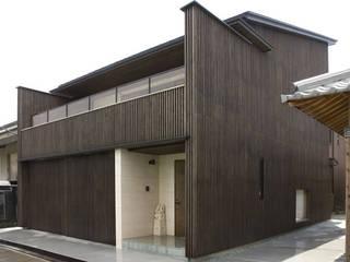森村厚建築設計事務所 Casas asiáticas Madera Acabado en madera