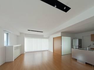 Modern Oturma Odası ろく設計室 Modern