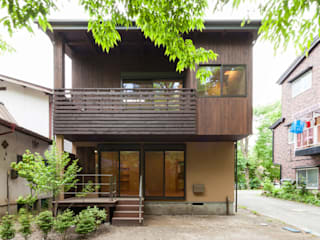 Scandinavian style houses by 光風舎1級建築士事務所 Scandinavian
