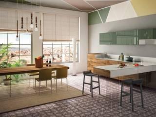 Cucine:  in stile  di M.H.I.D. MAIOCCHI HOUSE INTERIOR DESIGNER