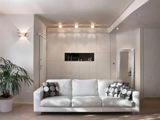 Casa Privata: Soggiorno in stile in stile Moderno di Costanza Mansueti