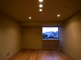長谷雄聖建築設計事務所 Modern style media rooms