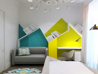 Projecto2 Minimalist nursery/kids room