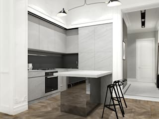 Kitchen by Projecto2, Minimalist
