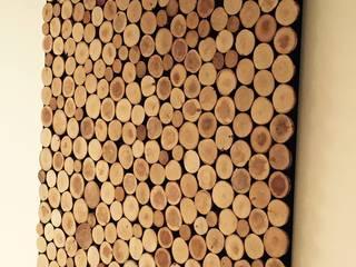 Schilderij woodslices :   door Woodlovesyou&more