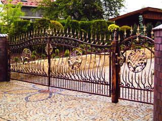Realizacja ogrodzenia 7: styl , w kategorii  zaprojektowany przez Armet