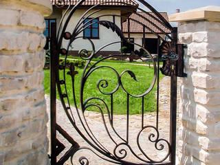 Realizacja ogrodzenia 9: styl , w kategorii  zaprojektowany przez Armet