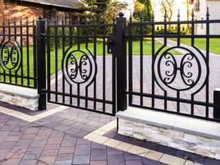 Realizacja ogrodzenia 12: styl , w kategorii  zaprojektowany przez Armet
