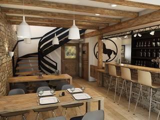 Rénovation d'une grange:  de style  par PYB design