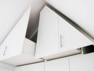 ZOLDERKAST | OPGERUIMD:  Slaapkamer door WEBERontwerpt | architectenbureau