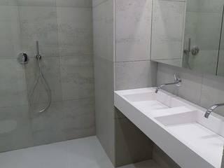 Minimalizm w łazience Minimalistyczna łazienka od Luxum Minimalistyczny