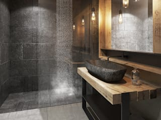 Modern bathroom by razoo-architekci Modern