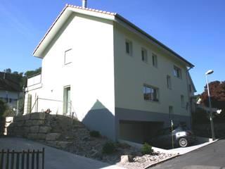Strassenfassade:  Häuser von haab schneider architekten